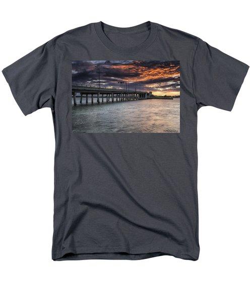 Sunset Over The Drawbridge Men's T-Shirt  (Regular Fit) by Fran Gallogly