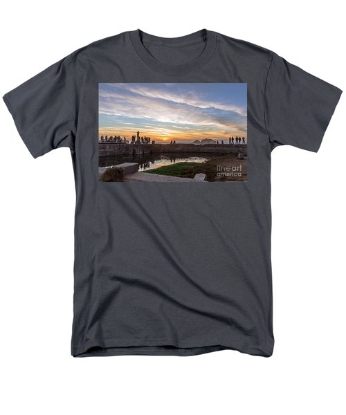 Sunset Party Men's T-Shirt  (Regular Fit) by Kate Brown