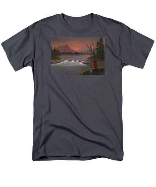 Sunset Serenade Men's T-Shirt  (Regular Fit) by Sheri Keith