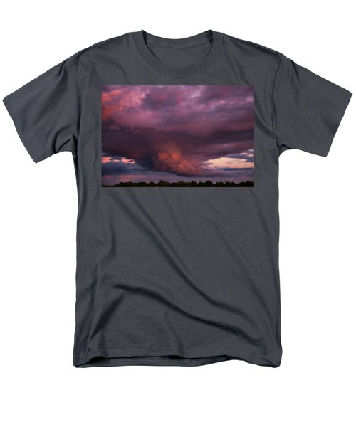 Men's T-Shirt  (Regular Fit) featuring the photograph Sunset Storm by Toni Hopper
