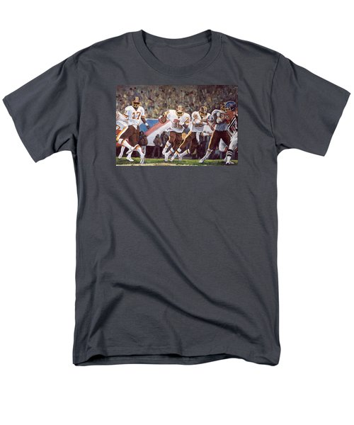 Superbowl Xii Men's T-Shirt  (Regular Fit) by Donna Tucker