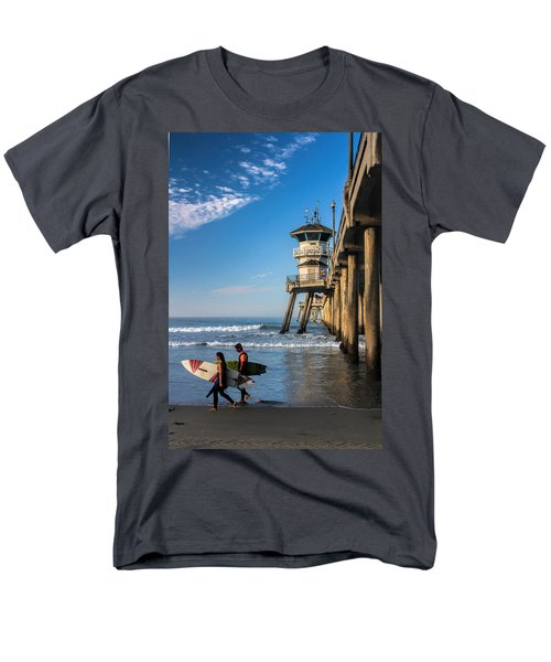 Surf's Up Men's T-Shirt  (Regular Fit) by Tammy Espino