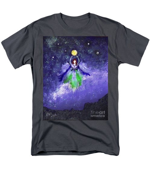 Men's T-Shirt  (Regular Fit) featuring the painting Survivor by Alys Caviness-Gober