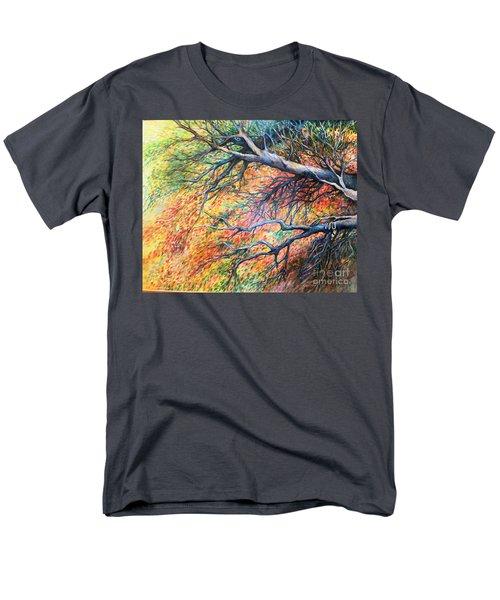 Sway Dancing Trees Men's T-Shirt  (Regular Fit)