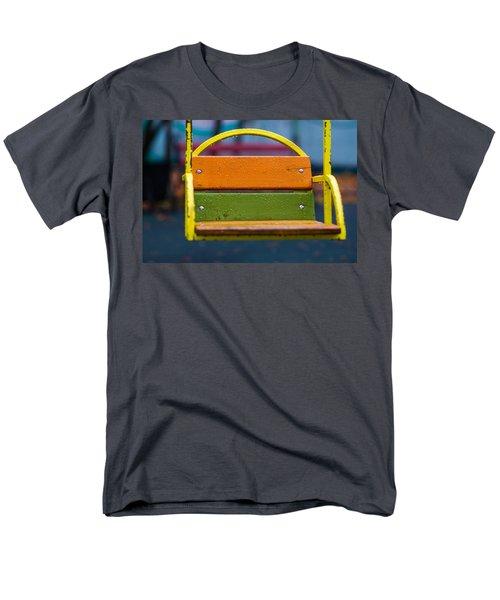 Swinging Rain - Featured 3 Men's T-Shirt  (Regular Fit) by Alexander Senin