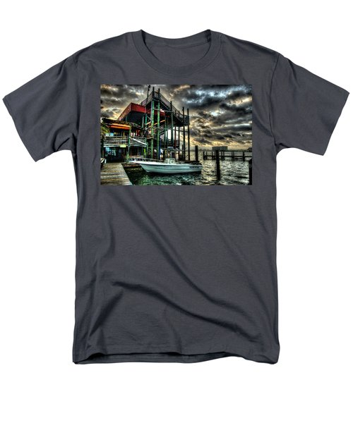 Men's T-Shirt  (Regular Fit) featuring the digital art Tacky Jack Morning by Michael Thomas