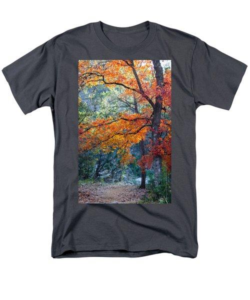 Take A Bough Men's T-Shirt  (Regular Fit) by Debbie Karnes