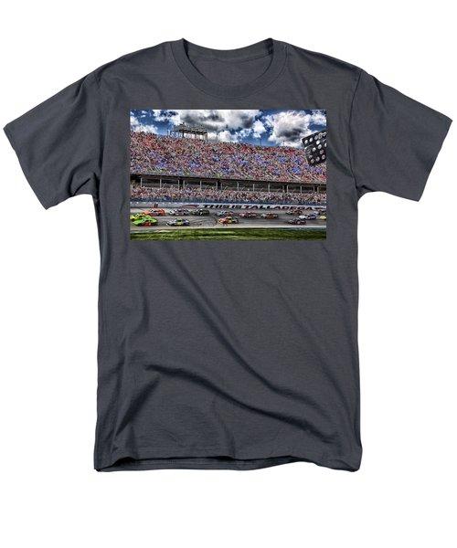 Talladega Superspeedway In Alabama Men's T-Shirt  (Regular Fit)
