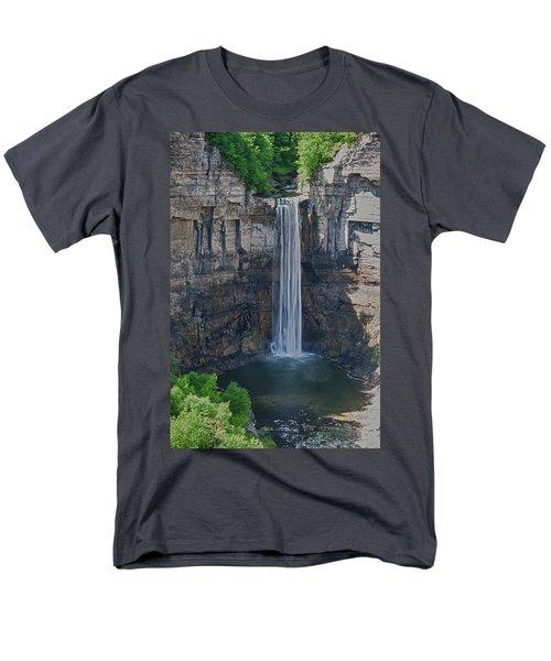 Taughannock Falls  0453 Men's T-Shirt  (Regular Fit) by Guy Whiteley
