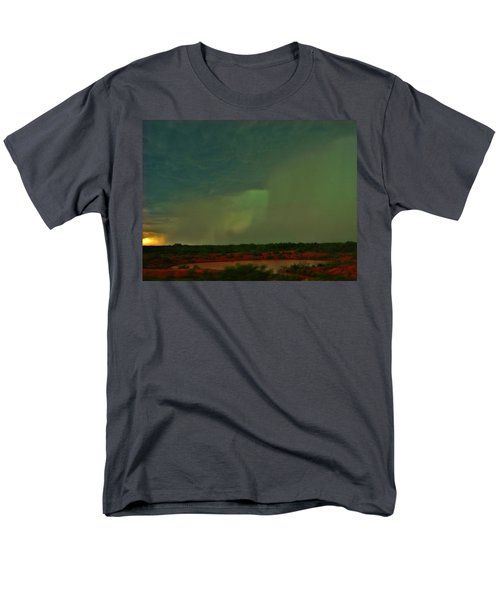 Texas Microburst Men's T-Shirt  (Regular Fit) by Ed Sweeney