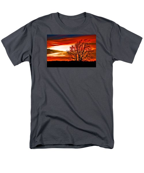 Texas Sunset Men's T-Shirt  (Regular Fit) by Darryl Dalton