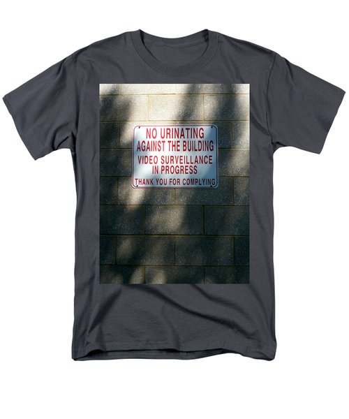 Thank You For Complying Men's T-Shirt  (Regular Fit) by Lon Casler Bixby
