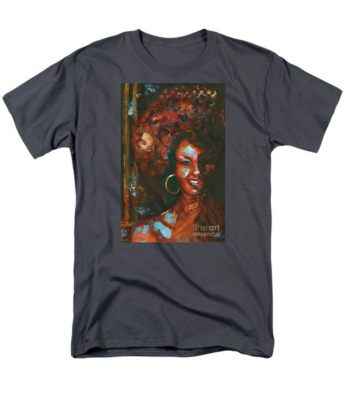 Men's T-Shirt  (Regular Fit) featuring the painting The 70s Were The Best by Alga Washington
