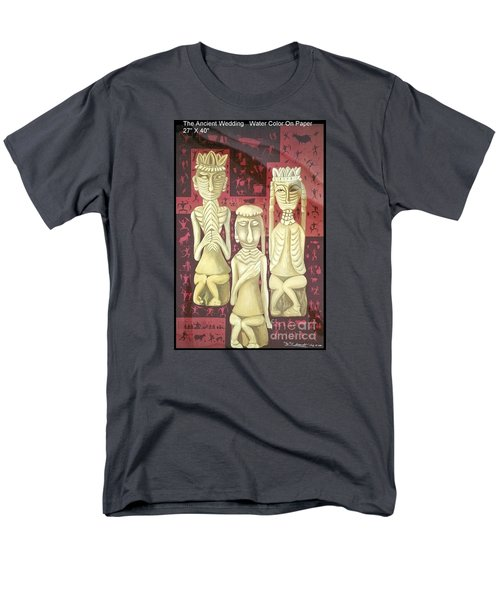 Men's T-Shirt  (Regular Fit) featuring the painting The Ancient Wedding by Fei A