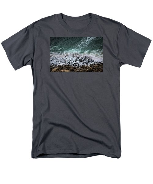 Men's T-Shirt  (Regular Fit) featuring the photograph The Arm Of Sea And Land by Edgar Laureano