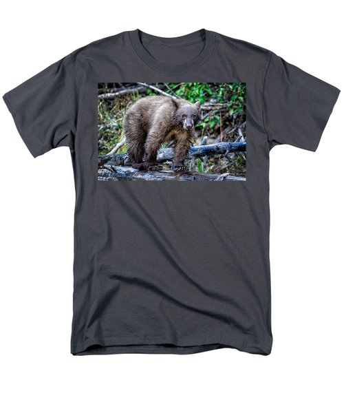 Men's T-Shirt  (Regular Fit) featuring the photograph The Balance Beam by Jim Thompson