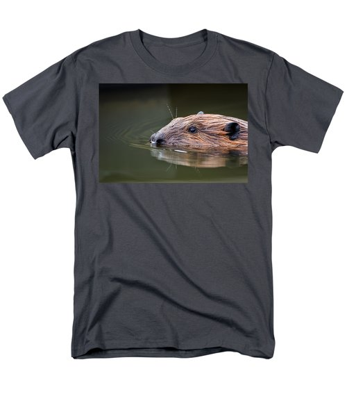 The Beaver Men's T-Shirt  (Regular Fit) by Bill Wakeley