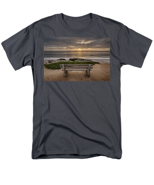 The Bench IIi Men's T-Shirt  (Regular Fit) by Peter Tellone