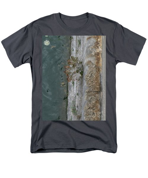 The Canal Water Men's T-Shirt  (Regular Fit) by Brenda Brown