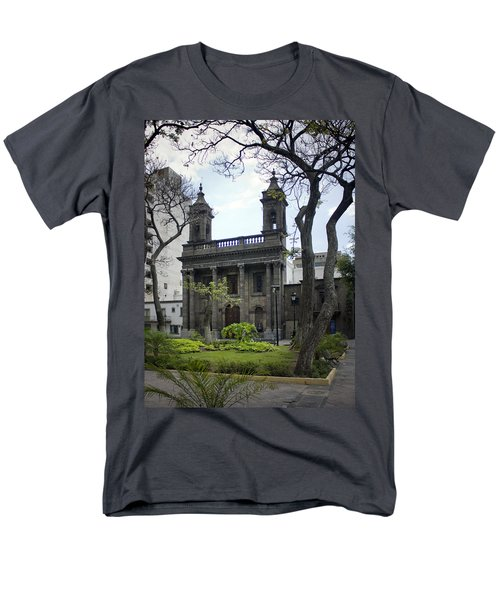 The Church Green Men's T-Shirt  (Regular Fit) by Lynn Palmer