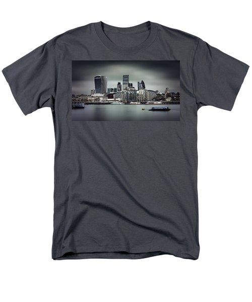 The City Of London Men's T-Shirt  (Regular Fit) by Ian Good