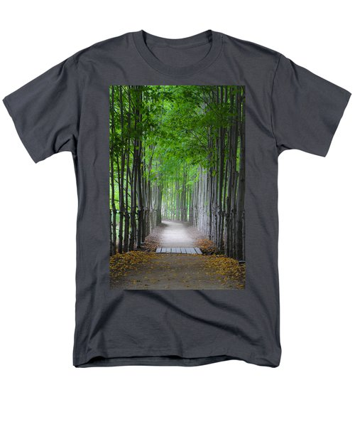 The Corridor Men's T-Shirt  (Regular Fit) by Eduard Moldoveanu