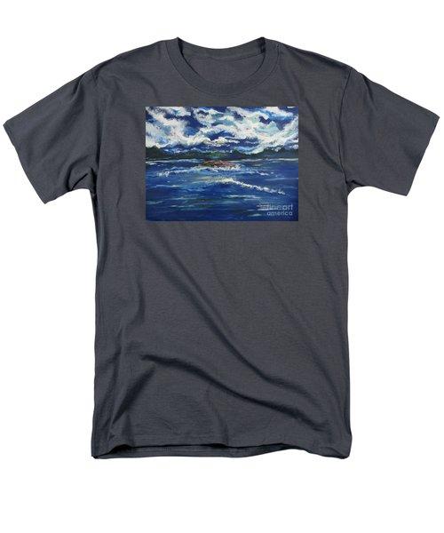 The Enchanting Sea  Men's T-Shirt  (Regular Fit) by Lori  Lovetere
