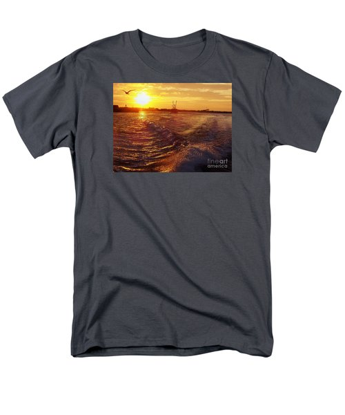 Men's T-Shirt  (Regular Fit) featuring the photograph The End To A Fishing Day by John Telfer