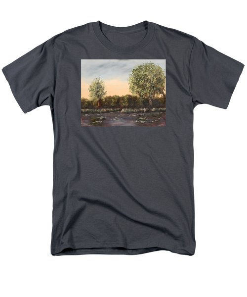 The Far End Of The Pond Men's T-Shirt  (Regular Fit) by Alan Mager