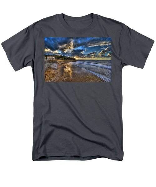the golden hour during sunset at Israel Men's T-Shirt  (Regular Fit) by Ronsho