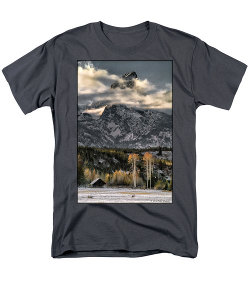 The Grand Teton Men's T-Shirt  (Regular Fit)