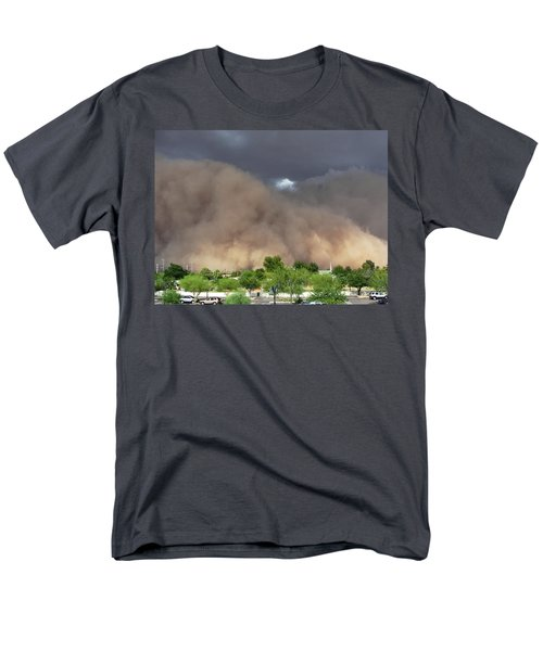 The Haboob Is Coming Men's T-Shirt  (Regular Fit) by Natalie Ortiz