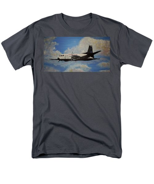 Men's T-Shirt  (Regular Fit) featuring the painting The Hawker by Marilyn  McNish