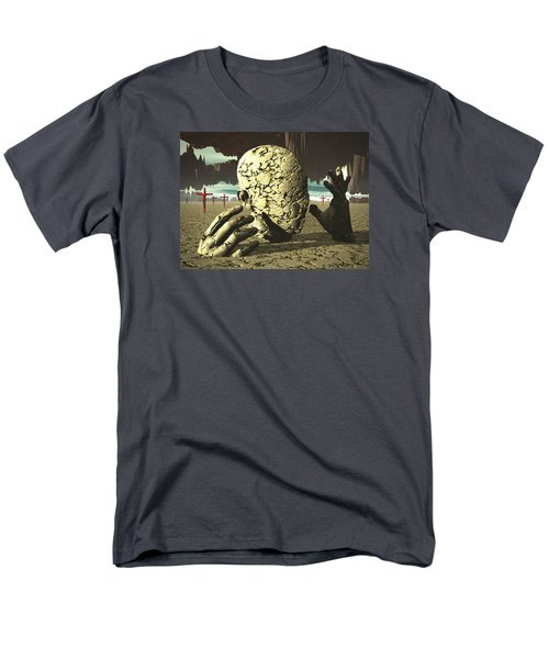 Men's T-Shirt  (Regular Fit) featuring the digital art The Immutable Dream by John Alexander