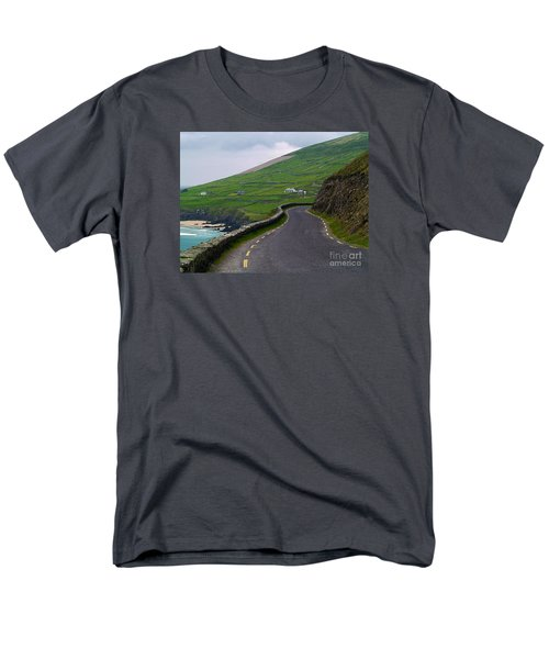 The Long And Winding Road Men's T-Shirt  (Regular Fit) by Patricia Griffin Brett