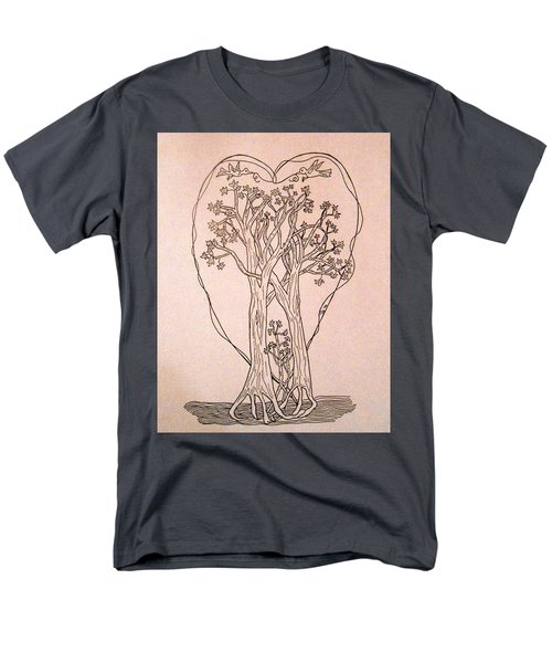 The Love And Celebration Of The Maple Tree Family Men's T-Shirt  (Regular Fit) by Patricia Keller