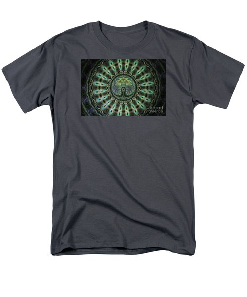 Men's T-Shirt  (Regular Fit) featuring the photograph The Mask by Donna Brown