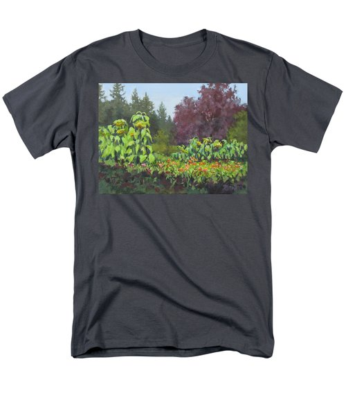 Men's T-Shirt  (Regular Fit) featuring the painting The Matriarchs by Karen Ilari