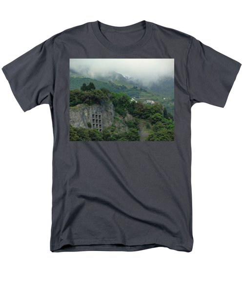 Men's T-Shirt  (Regular Fit) featuring the photograph The Mist Cometh by Natalie Ortiz