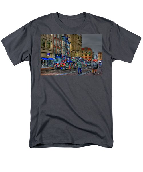 Men's T-Shirt  (Regular Fit) featuring the photograph The Morning Rhythm by Ron Shoshani