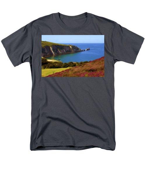The Needles Men's T-Shirt  (Regular Fit) by Ron Harpham