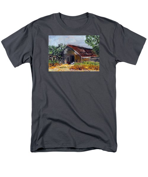 The Old Barn Men's T-Shirt  (Regular Fit) by Michael Helfen