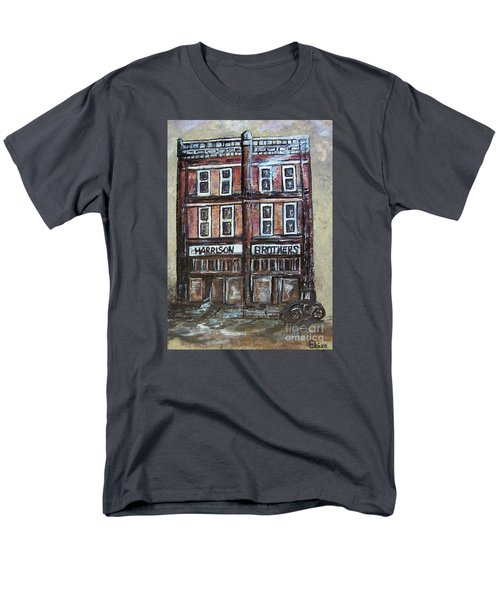 Men's T-Shirt  (Regular Fit) featuring the painting The Old Store by Eloise Schneider