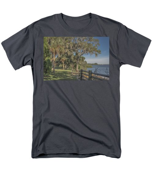 Men's T-Shirt  (Regular Fit) featuring the photograph The Park by Jane Luxton