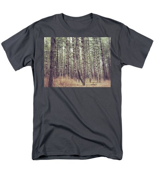 Men's T-Shirt  (Regular Fit) featuring the photograph The Preaching Of The Pines by Kerri Farley