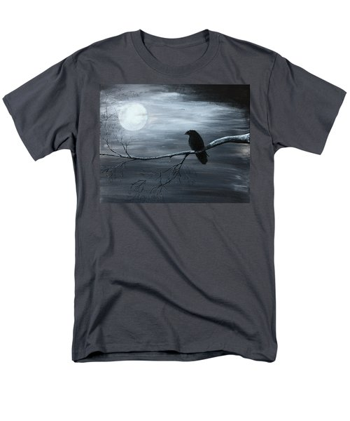 The Raven Piece 2 Of 2 Men's T-Shirt  (Regular Fit) by Gray  Artus