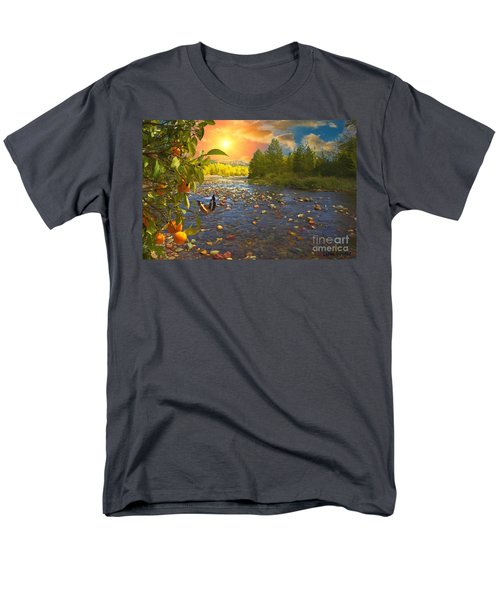 The Riches Of Life Men's T-Shirt  (Regular Fit) by Liane Wright