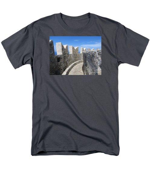 Men's T-Shirt  (Regular Fit) featuring the photograph The Rocks And The Path by Ramona Matei