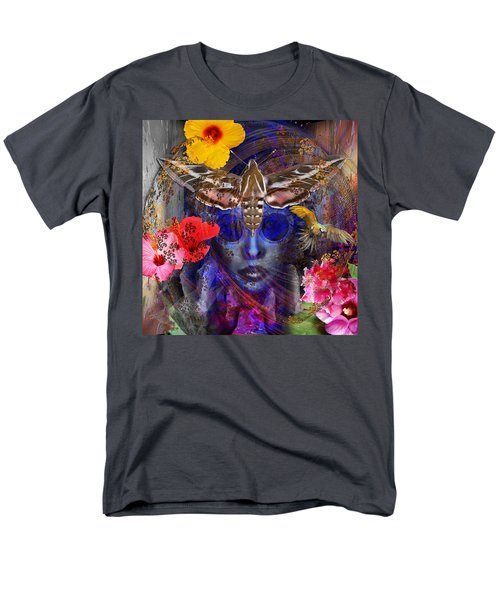 The Search For Hibiscus Life Men's T-Shirt  (Regular Fit) by Joseph Mosley