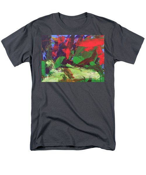Men's T-Shirt  (Regular Fit) featuring the painting The Sky by Donald J Ryker III